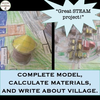 Project Based Learning Design and Build a Medieval Village Integrated Project
