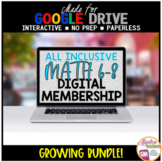 Middle School Math Distance Learning ALL INCLUSIVE Digital