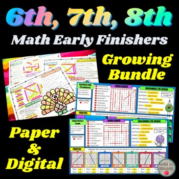 Middle School Math Early Finishers