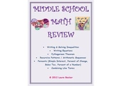 Middle School Math Mixed Review 2