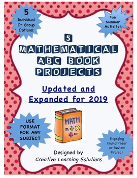 Middle School Math Project: ABC Book