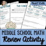 Real World Math Skills Review Activity