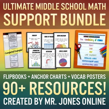 Middle School Math Support MEGA BUNDLE - The Ultimate Student Resource!
