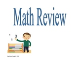 Middle School Math Test Review