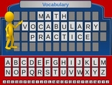 Middle School Math Vocabulary Game
