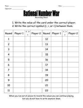 Middle School Math War