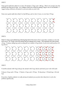 Middle School Math Warm-Ups or Bell Ringers