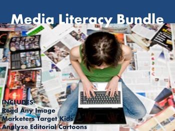 Middle School Media Literacy Bundle - Analyze and Synthesi