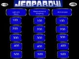Middle School Midterm Review Jeopardy Game