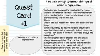 Middle School Lesson Plans & Activities: Theme, Inference, Mood, Plot & MORE!