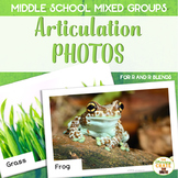 Middle School Mixed Group Articulation Photos R  R Blends
