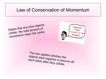 Middle School Momentum Power Point Presentation