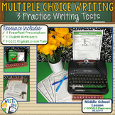 Standardized Writing Multiple Choice Tests - 3 Lessons / Activities / Practices