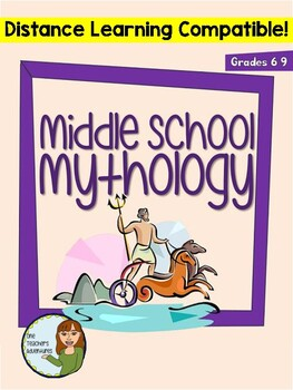 Middle School Mythology Unit - Purposes and Characteristics of World Mythology by One Teacher's Adventures