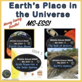 Middle School Science Earth's Place in the Universe BUNDLE