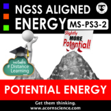 Middle School NGSS MS-PS3-2 Potential Energy Transfer