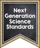 Middle School NGSS Pennant Banners - Burlap & Chalkboard
