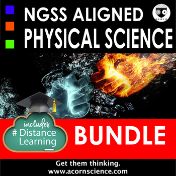 Middle School NGSS Physical Science Bundle