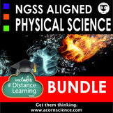 Middle School NGSS Physical Science Bundle Distance Learni