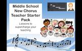 Back to School Middle School New Chorus Teacher Starter Pack