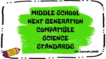 Middle School Next Generation Compatible Science Standards