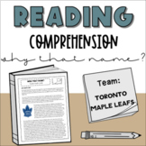Middle School Nonfiction Reading Comprehension: Why that N