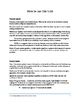 Middle School Novel Study (SARAH PLAIN AND TALL)--Common Core Aligned