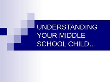 Middle School Open House Classroom Presentation