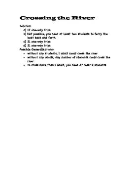 Middle School Open Math Problems Set 1