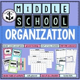 Middle School Organization Pack