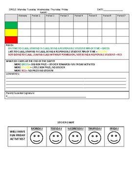 Middle School Parent/Guardian Communication