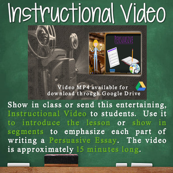 Persuasive Writing Lesson / Prompt – with Digital Resource – Cell Phones