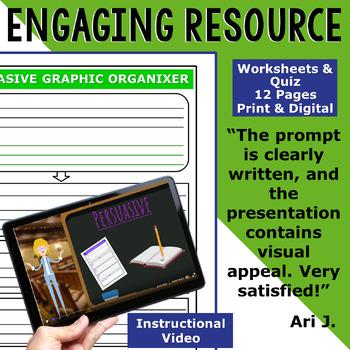 PERSUASIVE WRITING PROMPT - Computers in Schools - Middle School