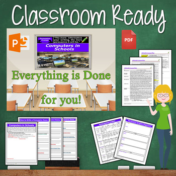 Persuasive Writing Lesson / Prompt w/ Digital Resource – Computers in Schools