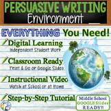 Persuasive Writing Lesson / Prompt – w/ Digital Resource –
