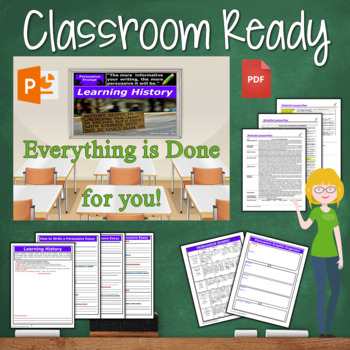 Persuasive Writing Lesson / Prompt – with Digital Resource – Learning History