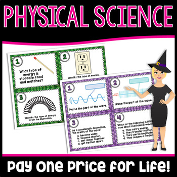 Middle School Physical Science Growing Bundle