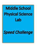 Middle School Physical Science Lab Calculating Speed