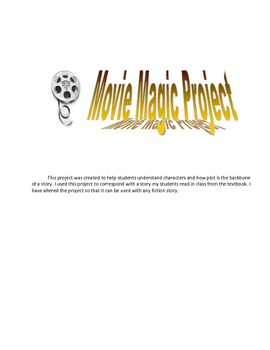 Middle School Plot Project for any fiction novel