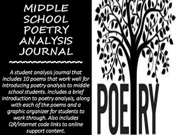 Middle School Poetry Analysis Journal
