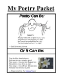 Middle School Poetry Packet (Excellent for figurative lang