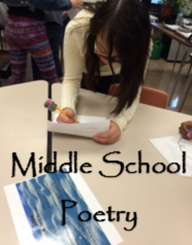 """Middle School Poetry """"This is Just to Say"""", """"We Real Cool"""", """"Snow"""" zip file"""