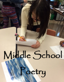 """Middle School Poetry """"This is Just to Say"""", """"We Real Cool"""""""