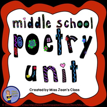 Middle School Poetry Unit