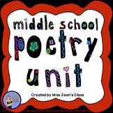 Middle School Poetry Unit