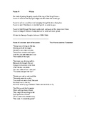 Middle School Poetry Unit Test