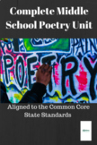 Middle School Poetry Unit aligned to Common Core