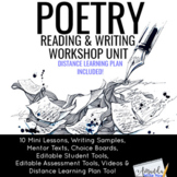 Poetry Unit for Reading and Writing Workshop and Distance