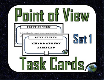 Point of View Task Cards (2 Sets)