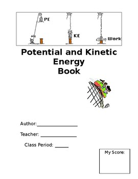 Middle School Potential and Kinetic Energy Book